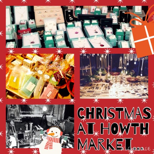 Christmas at Howth Market