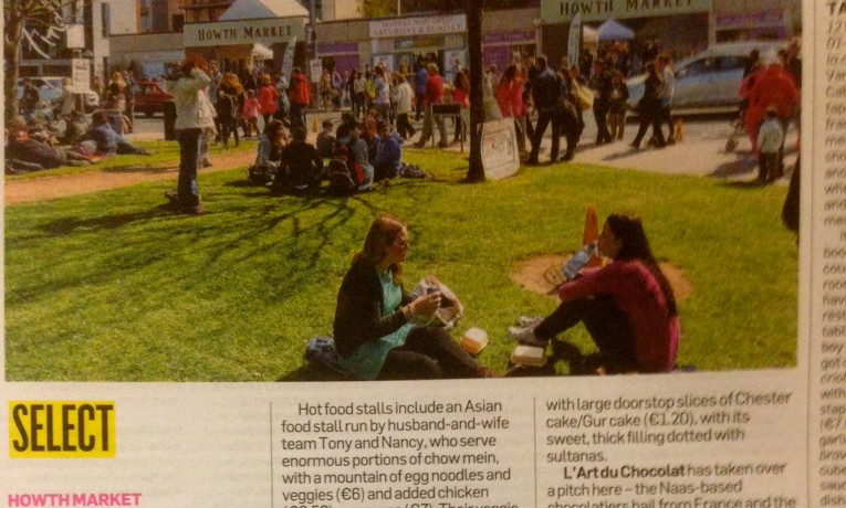 Howth Market in the Irish Times
